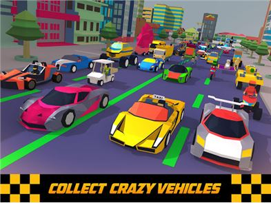 Crazy Traffic Taxi 4
