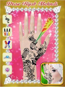 Hijab Hand Art – 3D Hand 1