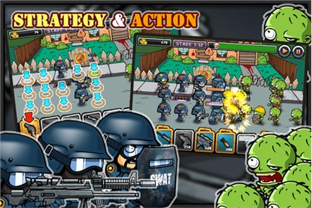 SWAT and Zombies 6