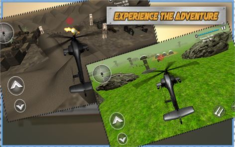 Gunship Adventure :Heli Attack 5