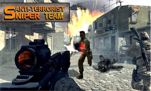 Anti-terrorist Sniper Team 6