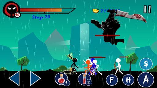 Stickman Ghost Warrior 5