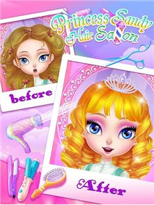 Princess Sandy-Hair Salon 5
