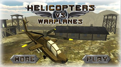 Helicopters vs Warplanes 1