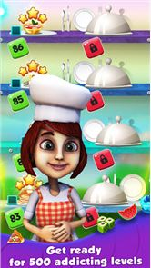 Chef Story:  Match 3 Games 2