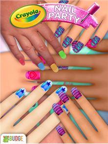 Crayola Nail Party: Nail Salon 6