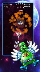 Space Attack: Chicken Shooter 2