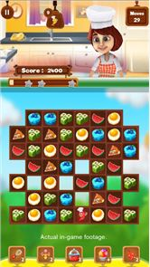 Chef Story:  Match 3 Games 5