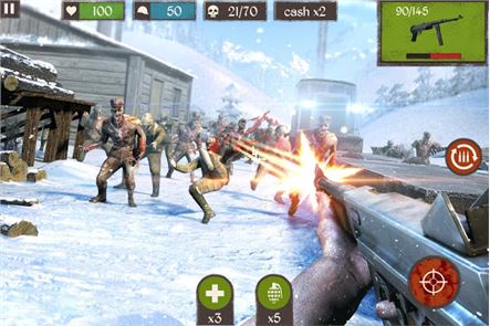 Zombie Call: Trigger Shooter 3