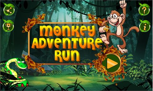 Monkey Adventure Run 1