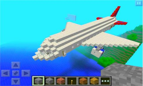 Airplane Ideas MCPE Mod 1