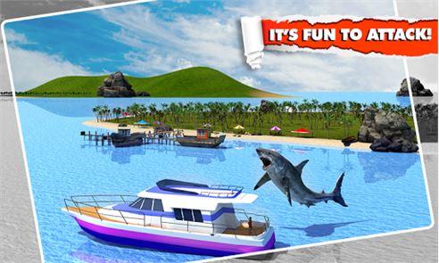 Angry Shark Simulator 3D 2