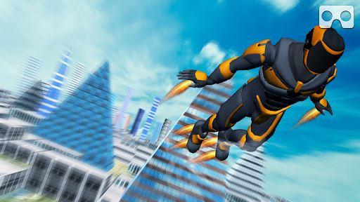 VR Flying Man 4