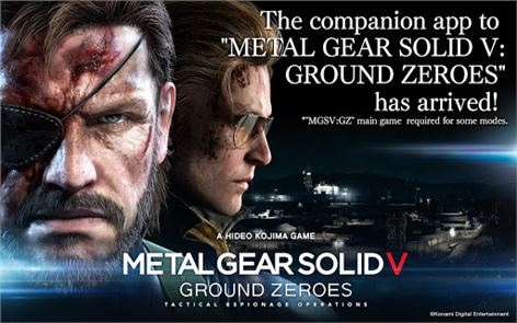 METAL GEAR SOLID V: GZ 1