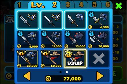 Chicken Revolution : Warrior 5