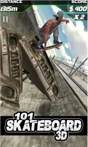 101 Skateboard Racing 3D 6