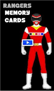 Hero Rangers Memory Game 1