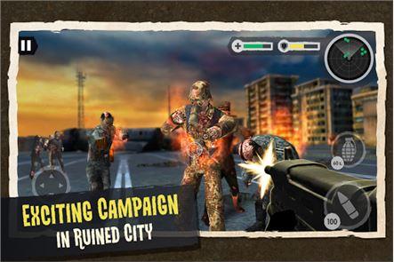 Zombie Combat: Trigger Call 3D 4