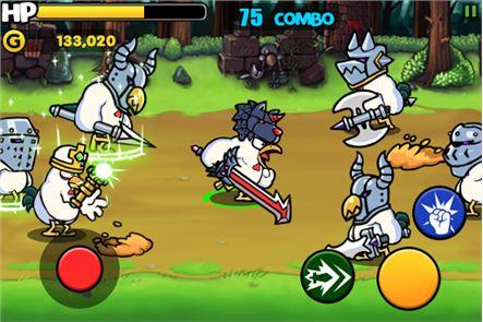 Chicken Revolution : Warrior 1