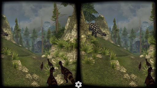 VR Jurassic Coaster 4