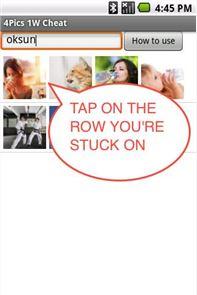 4 Pics 1 Word Cheat AllAnswers 4