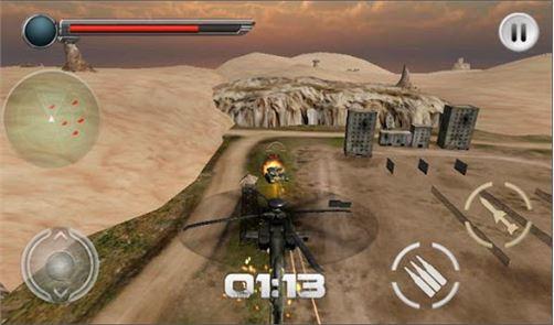 Modern Helicopter Tank War 3D 2