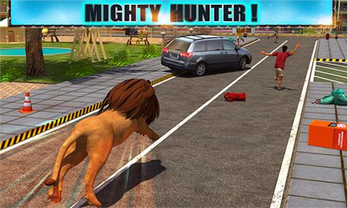 Angry Lion Attack 3D 3