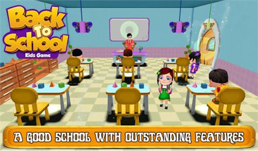 Back To School Kids Game 2